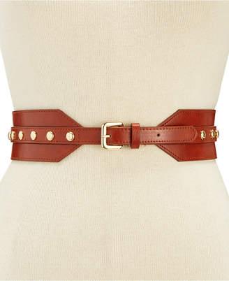 INC International Concepts I.N.C. Stud Stretch Belt, Created for Macy's
