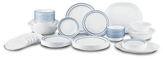 Corelle Classic Cafe Living Ware 74 Piece Dinnerware Set, Service for 12