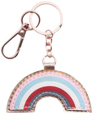 Lauren Conrad Cat and Rainbow Keychain Set