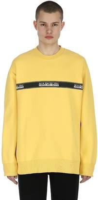 Napapijri Buena Cotton Blend Sweatshirt