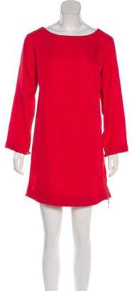 Marc by Marc Jacobs Long Sleeve Shift Dress