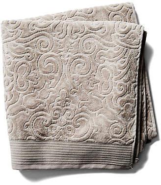 Peacock Alley Park Avenue Bath Towel - Flint