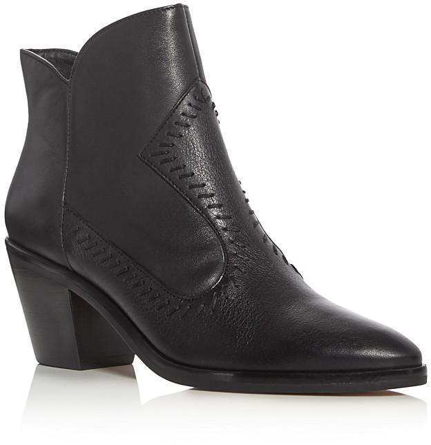 Rebecca MinkoffRebecca Minkoff Lulu Leather Mid Heel Booties