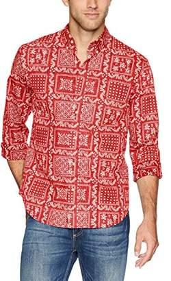 Reyn Spooner Men's Original Lahaina Long Sleeve Hawaiian Shirt