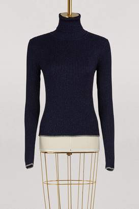 Marco De Vincenzo Turtleneck lurex sweater