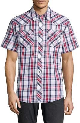 True Religion Men's Western Check Shirt