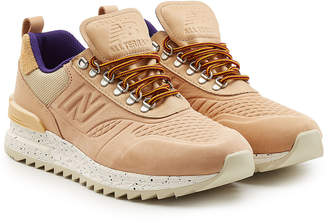 New Balance Trailbuster Sneakers in Leather and Suede