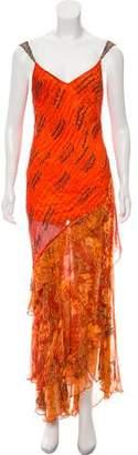 Alberto Makali Silk Evening Dress