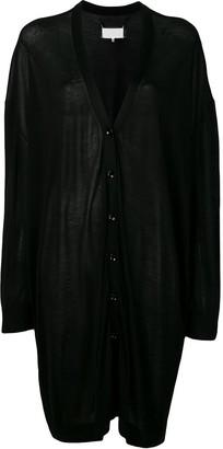 Maison Margiela oversized draped cardigan