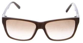 Valentino Gradient Rectangle Frame Sunglasses