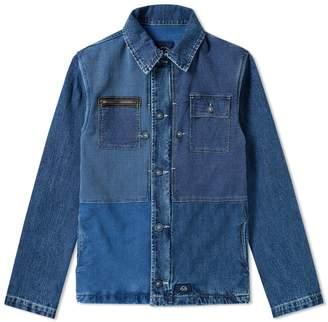 NAVAL Bleu De Paname Bleu de Paname Patchwork Jacket
