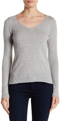 In Cashmere Cashmere V-Neck Sweater $197 thestylecure.com