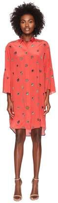 Paul Smith Floral Print Silk Dress Women's Dress