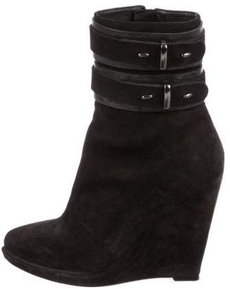Givenchy Pointed-Toe Wedge Boots