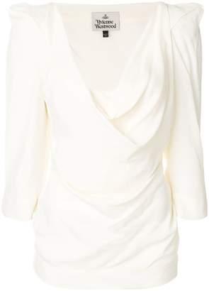 Vivienne Westwood structured shoulder blouse