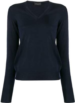 Roberto Collina slim-fit V-neck pullover