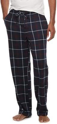 Croft & Barrow Men's Patterned Sweater Fleece Lounge Pants