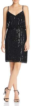 French Connection Aster Sleeveless Sequined Dress