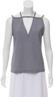 Araks Striped Sleeveless Top
