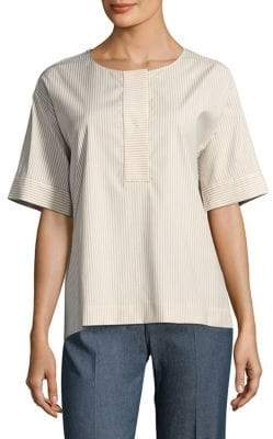 Piazza Sempione Striped Stretch Shirt
