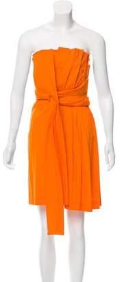 Cacharel Strapless Mini Dress