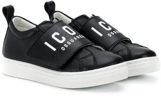 DSQUARED2 ICON lo-top sneakers