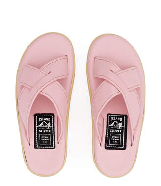 Opening Ceremony × Island Slippers Pink Slide Slipper