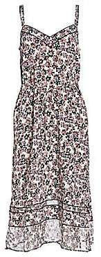 Rag & Bone Rag& Bone Rag& Bone Women's Ilona Silk Floral Slip Dress