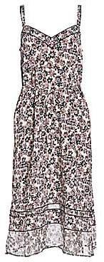 Rag & Bone Women's Ilona Silk Floral Slip Dress