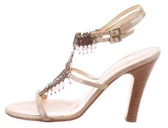 Giuseppe Zanotti Embellished High-Heel Sandals