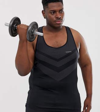 Tribeka Plus Seamfree Muscle Gym Tank