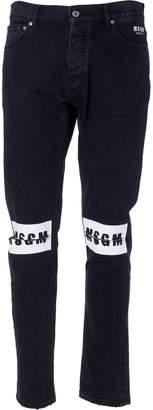 MSGM Logo Jeans