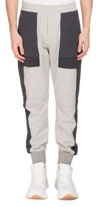 Alexander McQueen Men's Colorblock Jogger Pants