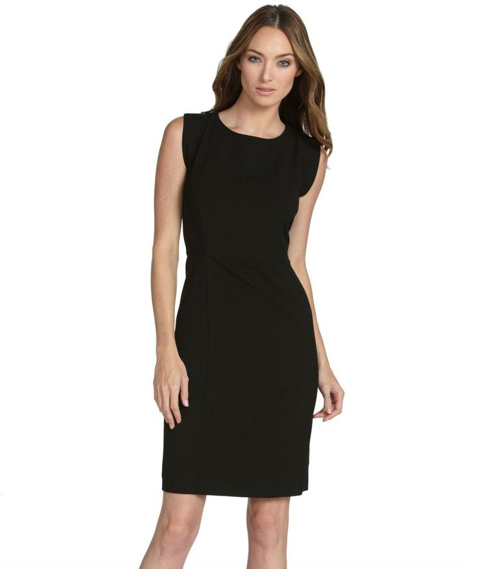 Kenneth Cole New York Solid Sheath Dress