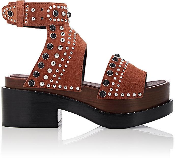 3.1 Phillip Lim3.1 Phillip Lim Women's Nashville Studded Suede Platform Sandals