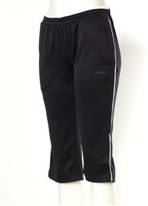 Reebok Text Capri Pant - Black/White