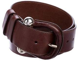 Burberry Leather Wrap Belt