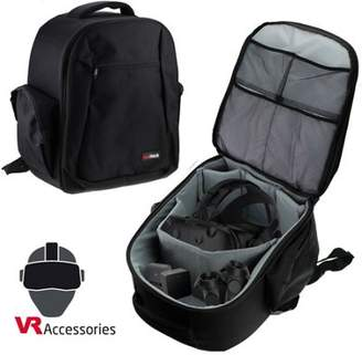 Sony Navitech Double Strap Backpack / Rucksack Carry Case For The Htc Vive, Occulus Rift And The Playstation Psvr