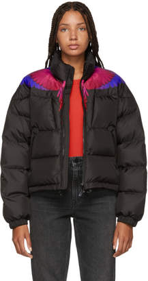 Marcelo Burlon County of Milan Black Wings Down Jacket