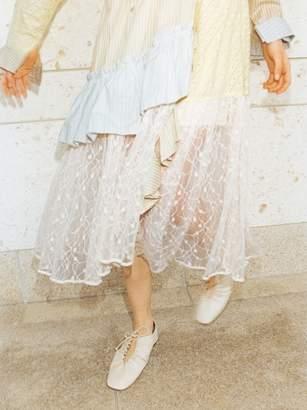 Snidel (スナイデル) - スナイデル ストライプMIXスカート