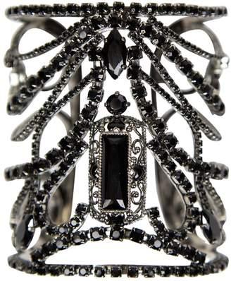 Swarovski Black Metal Bracelet