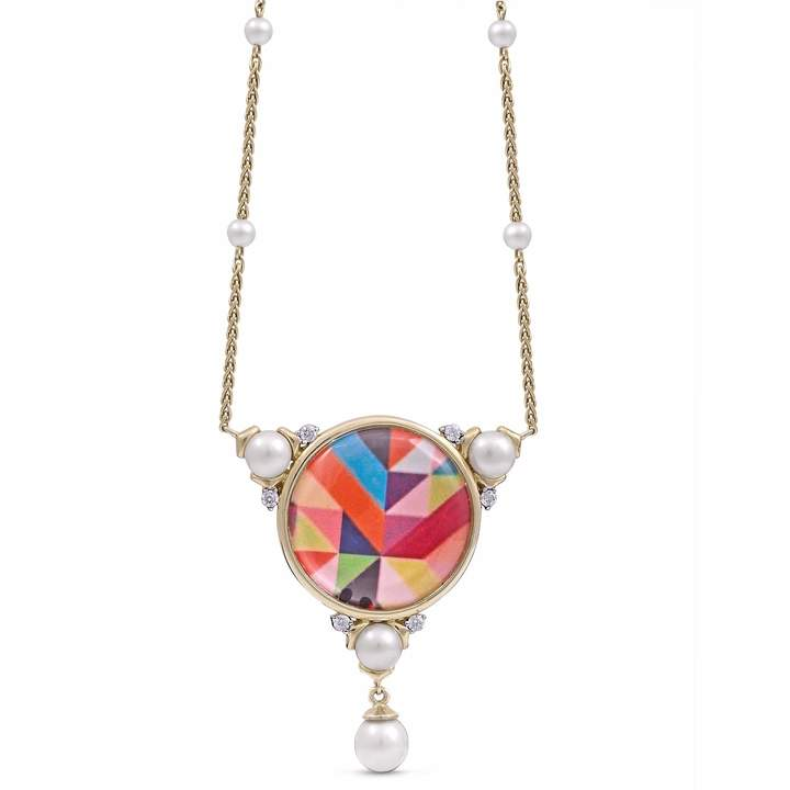 LMJ - Pops of Passion Necklace