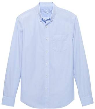 Banana Republic Grant Slim-Fit Luxe Poplin Shirt