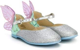 Sophia Webster Mini Chiara butterfly ballerinas