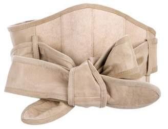 Nicholas K Leather Wrap Belt