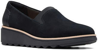 Clarks Womens Sharon Dolly Slip-On Shoes Slip-on Closed Toe