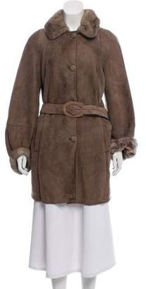 Rizal Short Shearling Mink Coat