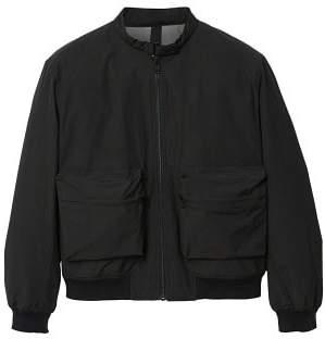 MANGO Pocket cotton bomber jacket