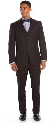 DAY Birger et Mikkelsen Men's Steve Harvey Classic-Fit Maroon Suit Jacket
