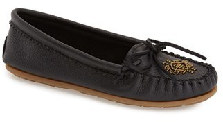 Women's Minnetonka Beaded Moccasin $58.95 thestylecure.com